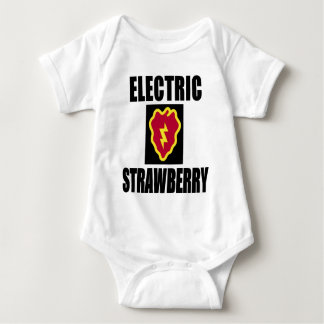 25TH INFANTRY ELECTRIC STRAWBERRY T-SHIRT