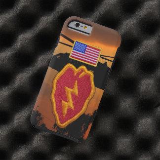 25th infantry Veterans Vets vietnam Patch Tough iPhone 6 Case