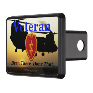 25th infantry vietnam nam iraq veterans vets tow hitch covers