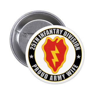 25th Infantry Wife Button