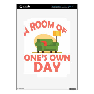 25th January - A Room Of One's Own Day Skin For iPad 3