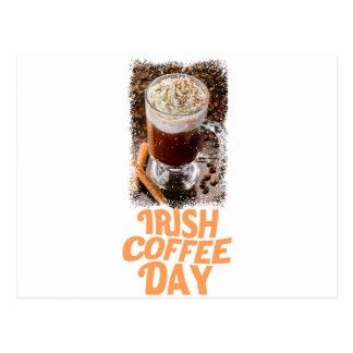 25th January - Irish Coffee Day Postcard