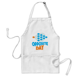 25th January - Opposite Day Adult Apron