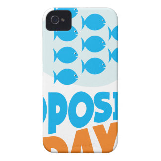 25th January - Opposite Day iPhone 4 Case