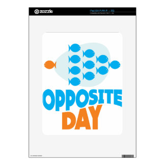 25th January - Opposite Day Skin For The iPad