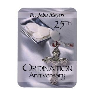 25th Ordination Anniversary Cross Host Magnet