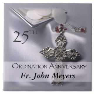 25th Ordination Anniversary Cross Host Tile