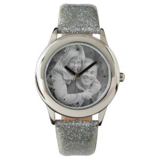 25th Silver Anniversary Photo Keepsake Watches