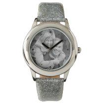 25th Silver Anniversary Photo Keepsake Wrist Watch