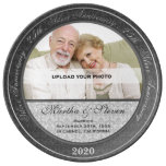 25th Silver Wedding Anniversary Photo Porcelain Plates