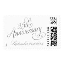 25th Silver Wedding Anniversary Postage