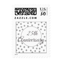 25th Silver Wedding Anniversary Stamps