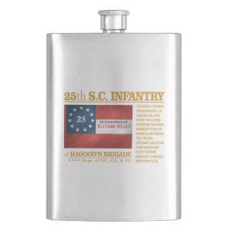 25th South Carolina Infantry (BA2) Flask