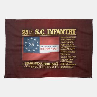 25th South Carolina Infantry (BA2) Hand Towel