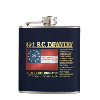 25th South Carolina Infantry (BA2) Hip Flask