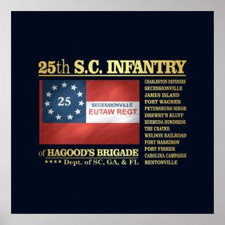 25th South Carolina Infantry (BA2) Poster