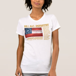 25th South Carolina Infantry (BA2) Tee Shirt