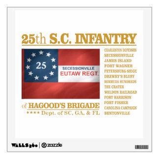 25th South Carolina Infantry (BA2) Wall Decal
