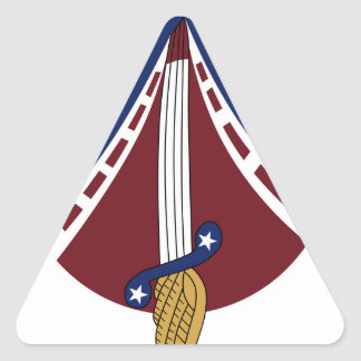 25th Tactical Fighter Squadron TFS 6.25  Patch Triangle Sticker
