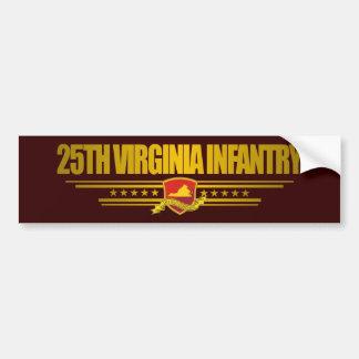 25th Virginia Infantry Bumper Sticker
