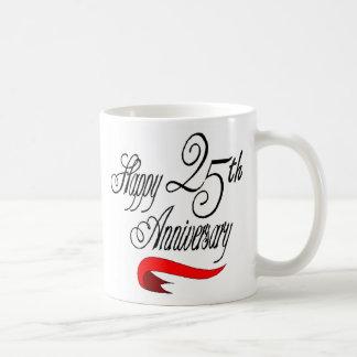 25th wedding anniversary a mugs