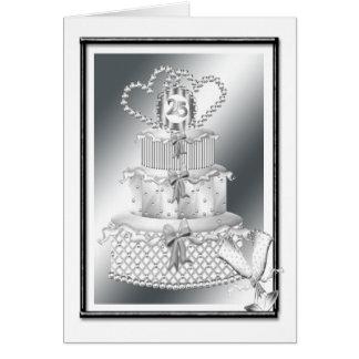 25th Wedding Anniversary Greeting Cards