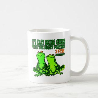 25th Wedding Anniversary Gifts Coffee Mug