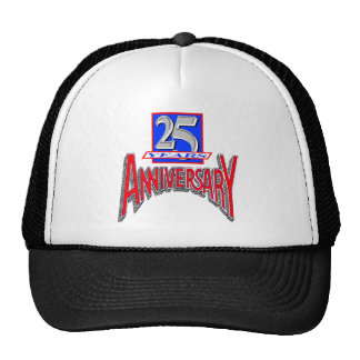 25th Wedding Anniversary Gifts Mesh Hats