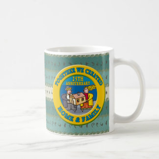 25th Wedding Anniversary Gifts Mugs