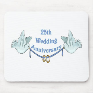 25th wedding anniversary gifts t mouse pad