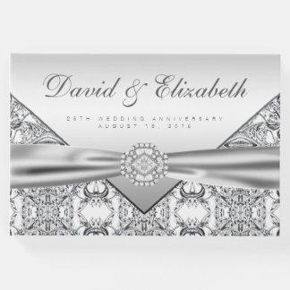 25th Wedding Anniversary Guest Book