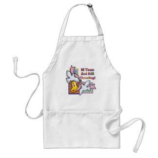 25th wedding anniversary gw adult apron