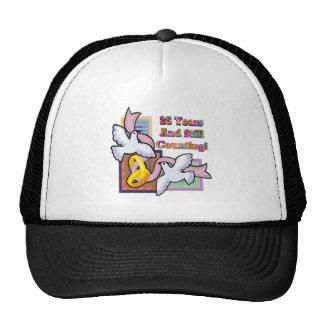 25th wedding anniversary gw hat