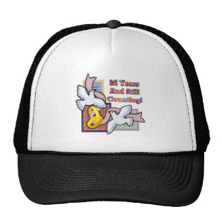 25th wedding anniversary gw trucker hat