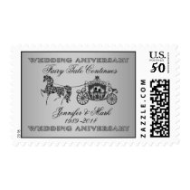 25th Wedding Anniversary-Horse & Carriage Postage