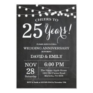 25th WEDDING ANNIVERSARY INVITATIONS BONUS