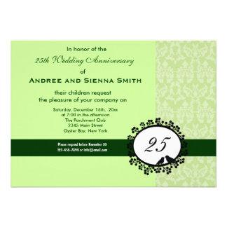 25th Wedding Anniversary Invite
