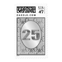 25th Wedding Anniversary Postage