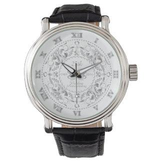 25th Wedding Anniversary  Silver Ornate - Watch