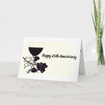 **25th WEDDING ANNIVERSARY** SPECIAL COUPLE Card