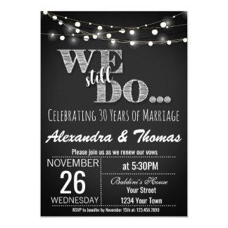 25th Wedding Anniversary, We Still do Anniversary Card