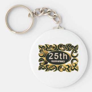 25thanniversary13t keychain