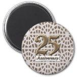 25thanniversary3 fridge magnets