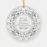 25to Aniversario de boda - ornamento Ornatos