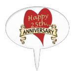 25to. Aniversario Figuras De Tarta