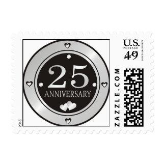25to Aniversario Timbre Postal
