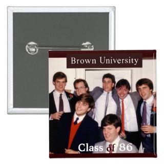 25to botón de la reunión de Brown Pins