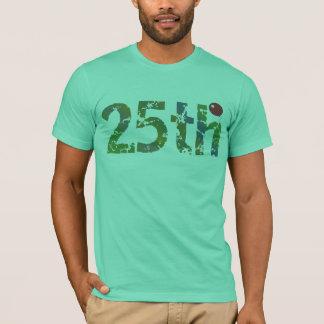 25to Camiseta de los regalos de cumpleaños