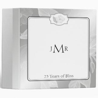 25to Carpeta del aniversario de boda de la