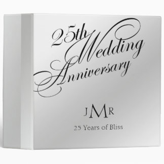 25to Carpeta del aniversario de bodas de plata